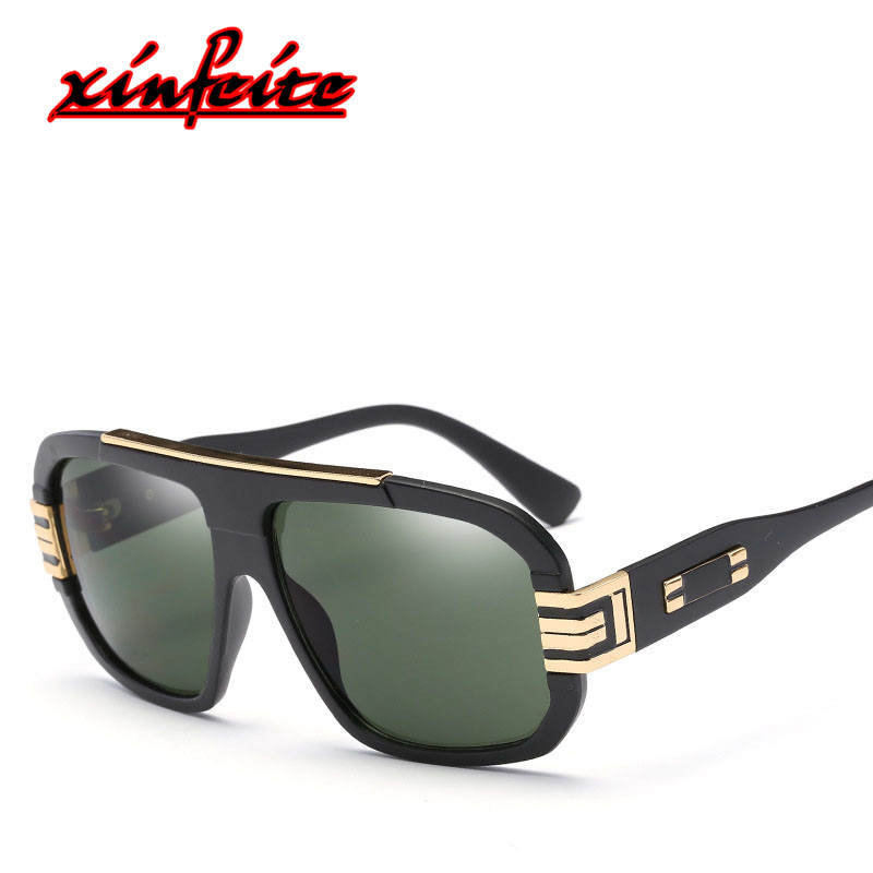 2018 Fashion Hipster Retro Pilot Sun Glasses Brand Luxury Vintage Men Sunglases Hot Sale ...