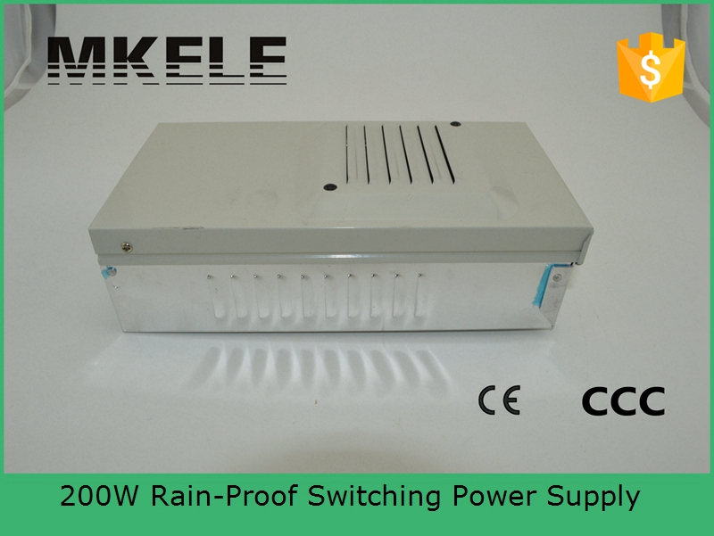 ФОТО CE approved 200w metal case single output reliable rainproof power supply 200w FY-201-5 40A 201w low price