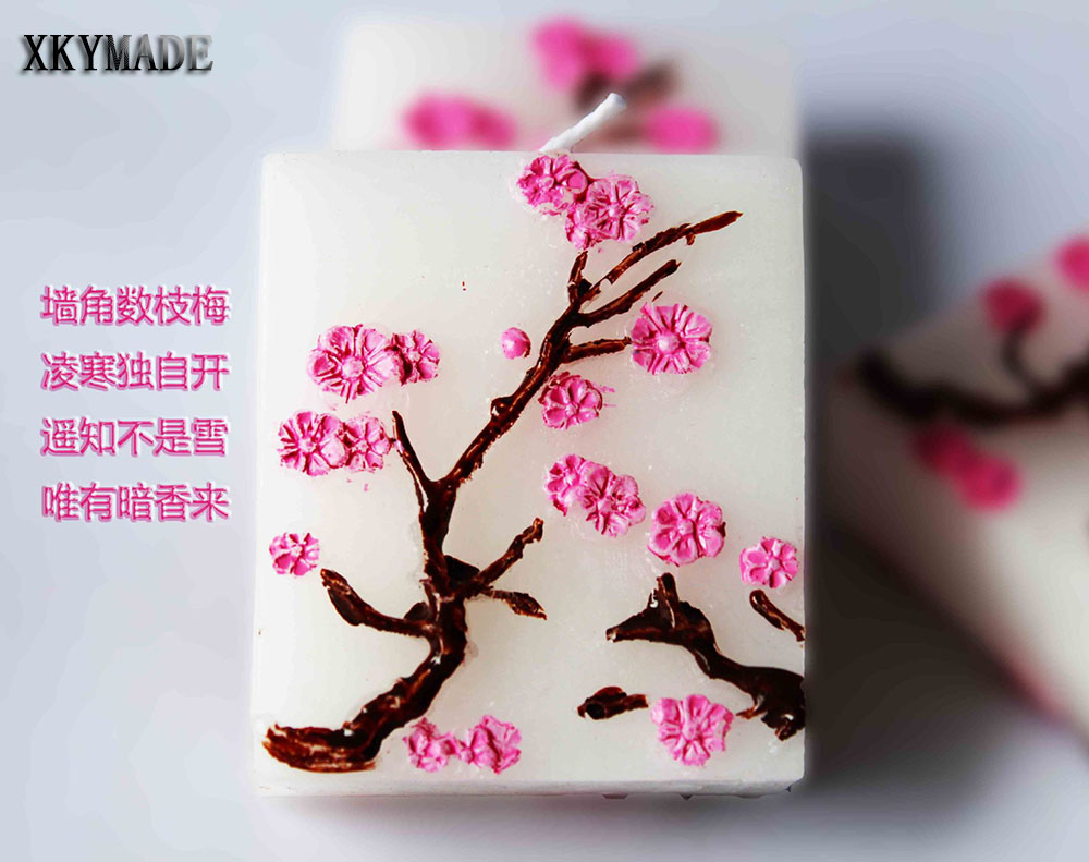 Cherry Blossom Candle Party Decorations Wedding Baby Shower Favors ...