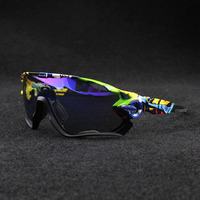 Polarized Cycling Sunglasses Outdoor Sport Bicycle SunGlasses Cycling Glasses Cycling Goggle Eyewear 5 Lens
