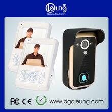 1 cámara de 2 unidades de 3.5 pulgadas monitor de 2.4 GHz digital Inalámbrica de Vídeo en Color Teléfono de la puerta de transmisión larga