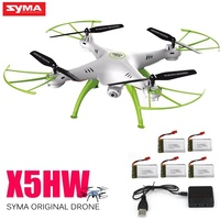 Original Syma X5hw Rc Drone With Camera Fpv Drone 6 Axis Rc Helicopter Wifi 4ch Quadcopter