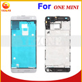 100% Original New Repair Parts Mobile Phone Black White Housing Cover Case For HTC One Mini 601E M4 Faceplate Cover Case