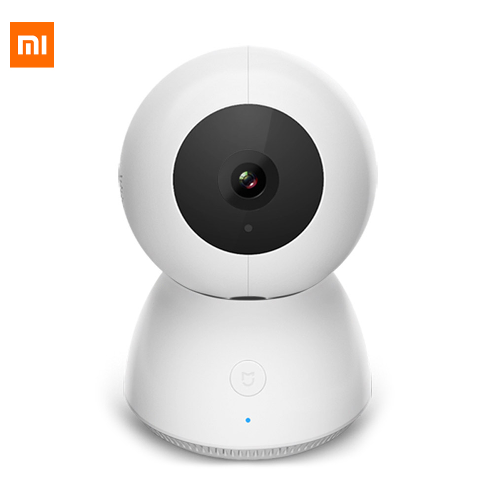 Original Xiaomi Mi MIJIA Dome IP Webcam Phone WiFi APP Remote Control 360 Degree View Angle 1080P Night Vision Webcam Smart Home xiaomi mijia air conditioning remote controller socket smart gateway app control