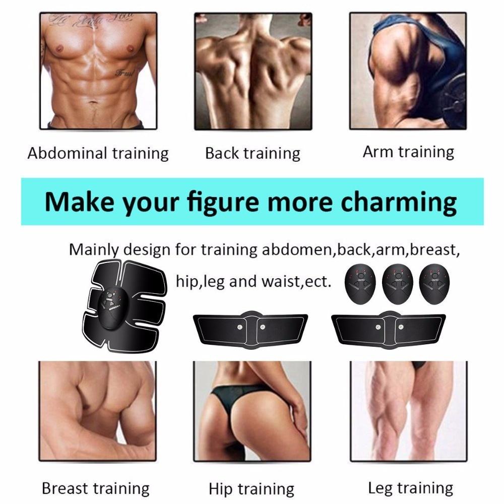 Massagem e Relaxamento muscular eletrônico abs músculo abdominal Tipo de Item : Massagem & Abrandamento