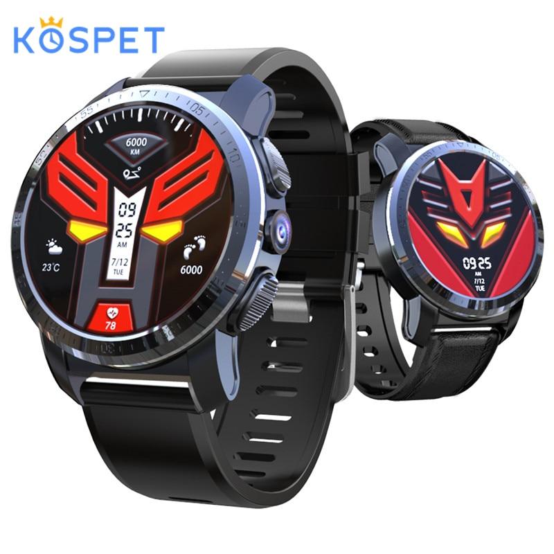 KOSPET Optimus Pro 3GB 32GB 800mAh Battery Dual Systems 4G Smart Watch Phone 8.0MP camera 1.39 Android 7.1.1 PK lem9 smartwatch