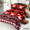 3D Bedding Sets Merry Christmas Santa Claus and Gift 4pc Duvet Cover Bed Sheet Pillo w Case 100% polyester Christmas Gift