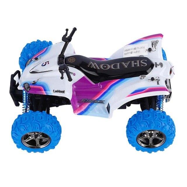 Carro RC 1/24 2.4 GHz 4CH 40 km de Alta Velocidade Da Motocicleta Carro de Plástico Flexível Brinquedo Carro de Controle Remoto Fácil de Instalar crianças