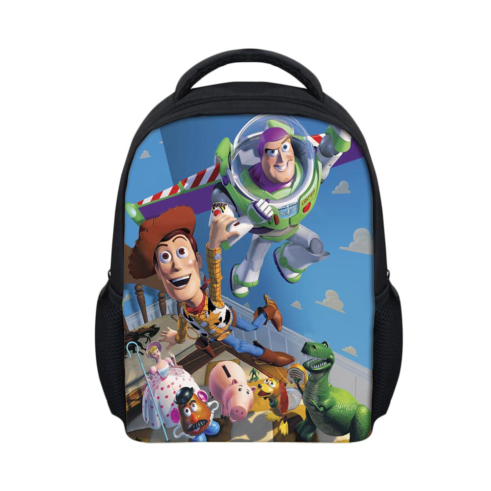 50b4abcb3b 3D Cartoon Woody Toy Story Printed Girls School Bags for Baby Boys Little Kids  Backpack Satchel