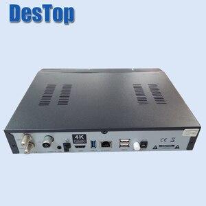 Image 2 - 1PC Zgemma star H7S E2 Linux câble Satellite 4k UHD récepteur 2 * DVB S2/S2X + DVB T2/C