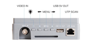 Image 2 - 4.3 אינץ 4 ב 1 HD CCTV Tester צג AHD CVI TVI CVBS אנלוגי מצלמות Tester 5MP 4MP 1080P 720P UTP אודיו 12V