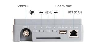 Image 2 - 4.3 Inch 4 In 1 HD CCTV Tester Monitor AHD CVI TVI CVBS Analog Cameras Tester 5MP 4MP 1080P  720P UTP Audio 12V