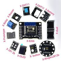 X Series Suit ESP WROOM 02 WeMos D1 Mini DHT Sensor 1 3 0 96 Inch