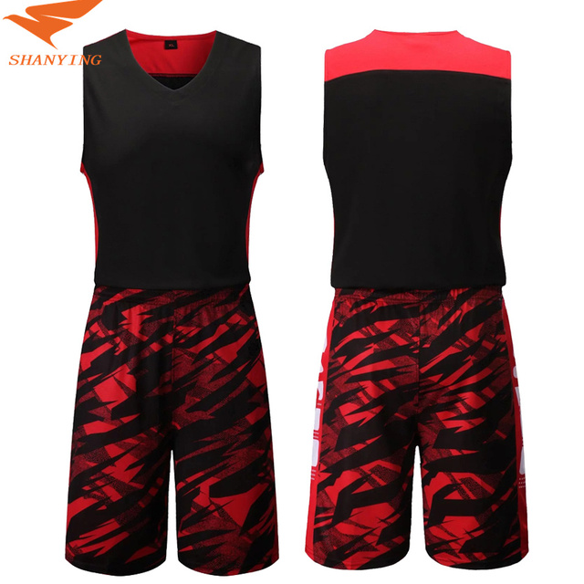 cf099db2e998 Men Basketball Uniforms Sports Sportswear Training Sports clothing  Breathable Basketball Sets Clothes Vest Sleeveless Shorts DIY