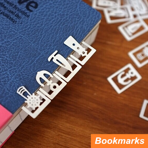 64 Pcs In 3 Box Metal Bookmark For Book Page Holder Cute Vintage Book Marker Papelaria Office Materials School Supplies 6408