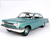 1 18 1962 Chevrolat BELAIR Scale Die Cast Metal Model Diecasts Vehicles Collection High Simulation Alloy