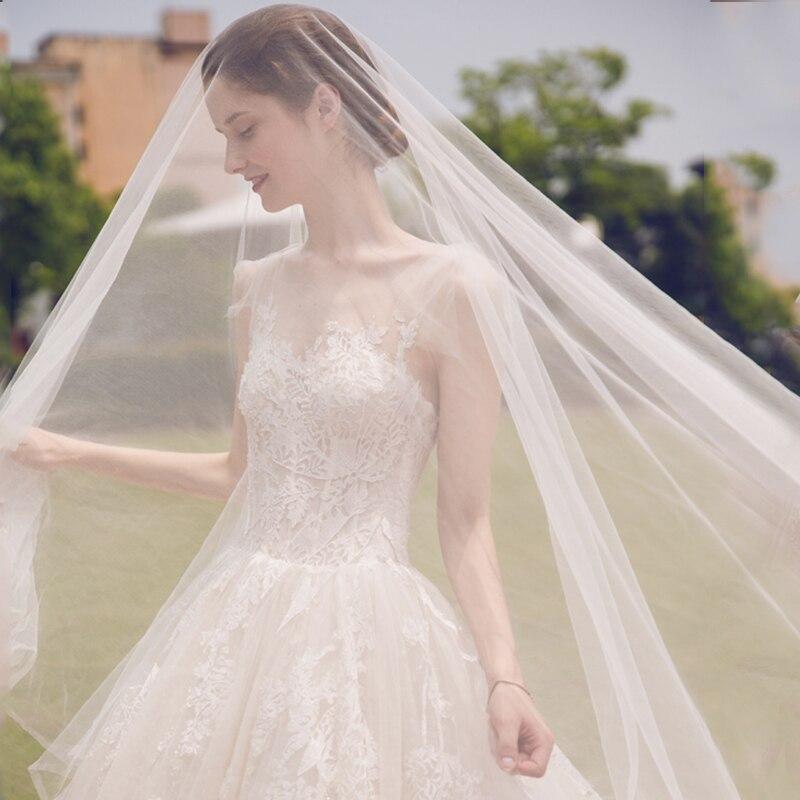 μακρύ μανίκι μανίκι μουσουλμανική - Γαμήλια φορέματα - Φωτογραφία 3
