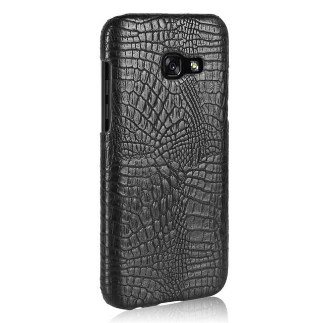newest c36ed f8900 US $2.48 28% OFF|For Coque Samsung Galaxy A3 A7 A5 2017 2016 Case Cover  Luxury Crocodile Skin Phone Case for Samsung Galaxy A7 A5 A3 6 2017  Funda-in ...