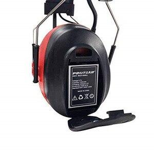 Image 5 - Protear 1200mAh Lithium Batterie NRR 25dB Gehör Protector Bluetooth AM/FM Radio Ohrenschützer Elektronische Ohr Schutz