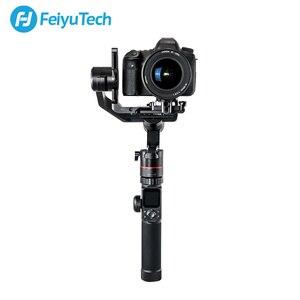 Image 2 - Gimbal FeiyuTech AK4000 3 Axis el Gimbal kamera sabitleyici dslr Sony Canon 5D Panasonic D850 pk dji ronin s