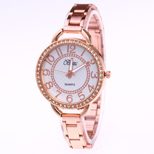 Fashion Watch Women luxury brand rose gold diamond crystal wrist watches for women fashion casual quartz watch ladies clock gift