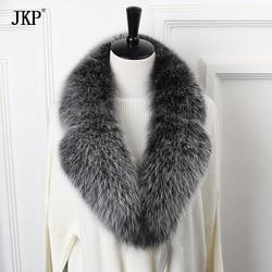 2018 nieuwe bestseller natuurlijke vos bontkraag sjaal 90 cm winter vrouwen authentieke vos bontkraag warme sjaal