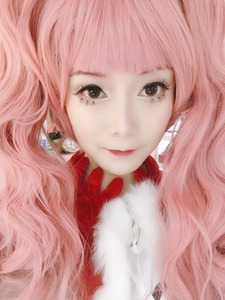 Image 3 - Anime One Piece Cosplay Wig Ghost Princess Perona Pink Long Curly Wavy Ponytails Synthetic Hair Adult Pigtail