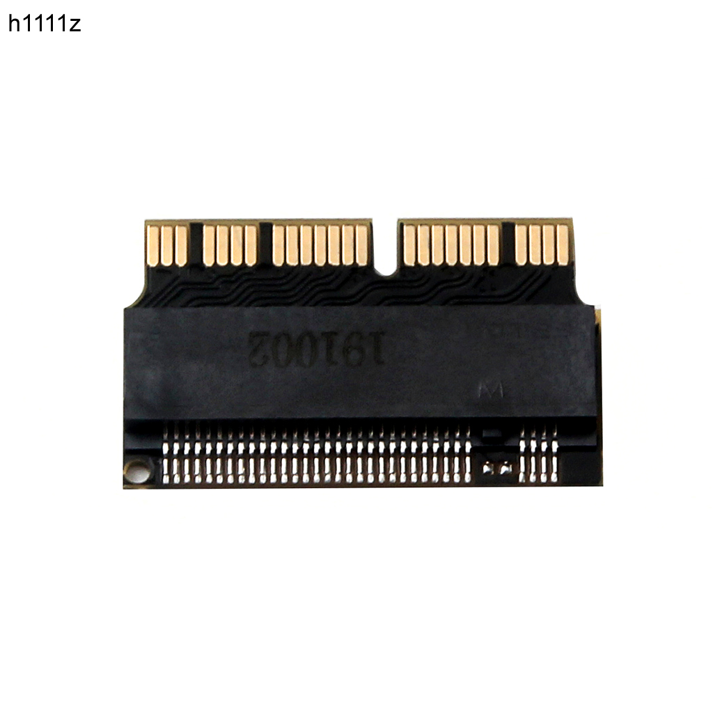 H1111Z m.2 <font><b>Adapter</b></font> NVMe PCIe <font><b>M2</b></font> NGFF to SSD for Apple Laptop for <font><b>Macbook</b></font> Air Pro 2013 2014 2015 A1465 A1466 A1502 A1398 PCI-E x4 image