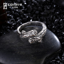 GOMAYA Tree Branches Vintage Retro Rings 925 Sterling Silver Unique Aneis de Prata Fine Jewelry Gift for Women