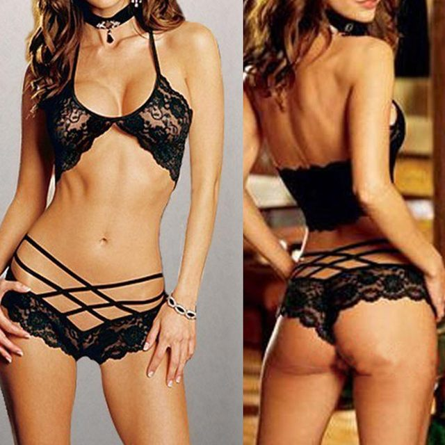 Aliexpress.com : Buy Black Sexy Woman Lady Lace Underwear ...