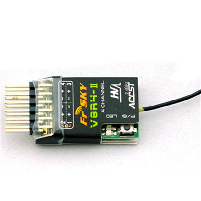 High Quality FrSky V8R4-II 2.4Ghz 4CH Receiver RC Receiver For RC Multicopter Part