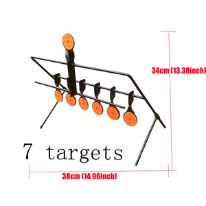 Image 4 - Outdoor Schieten 5/7/9 Reset Doel Ring Paintball Airsoft Bb Lood Schieten Doel Toepassing Doel