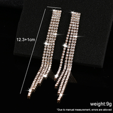 2019 Best Selling Explosion Fashion Simple Natural Crystal Drop Earrings High grade Fame Style Ladies Brincos For Women Jewelry