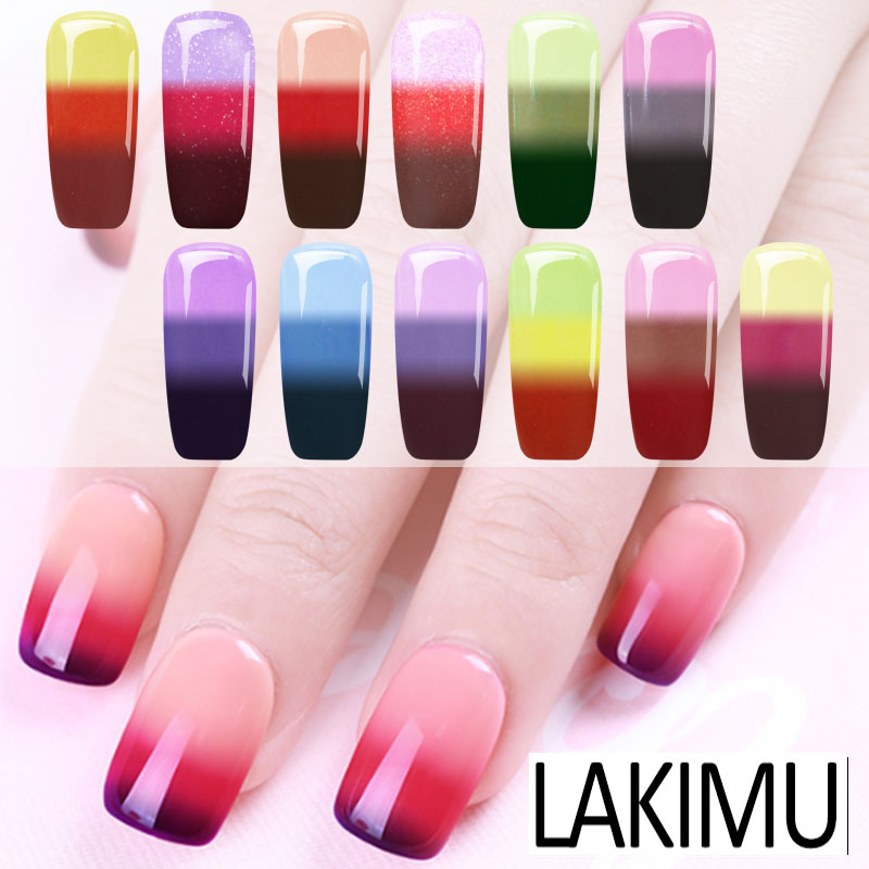 Lakimu Nail Art Temperature Change Color UV