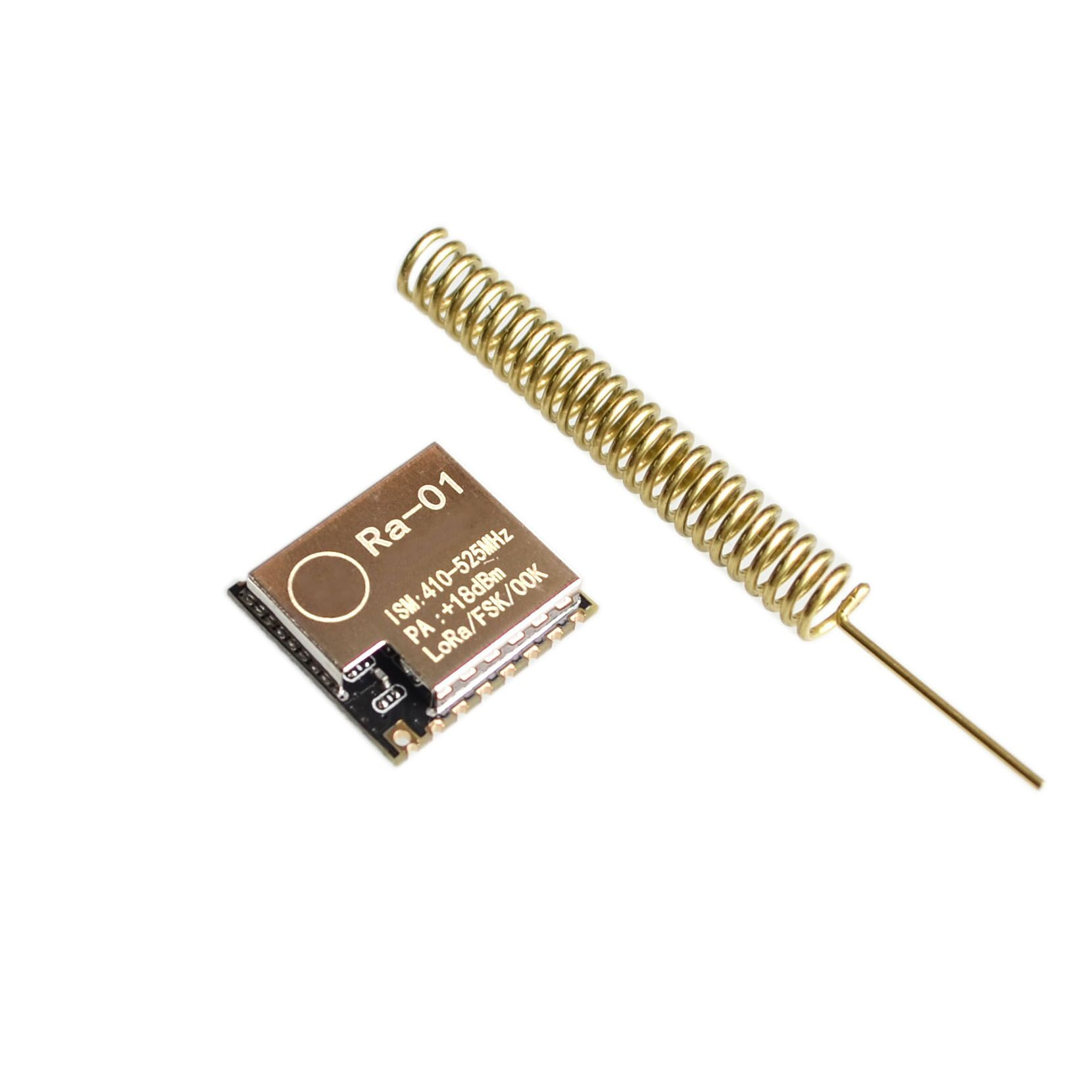 10PCS LOT Ra 01 LoRa SX1278 433M Wireless Spread Spectrum Transmission Module Most Distant 10KM