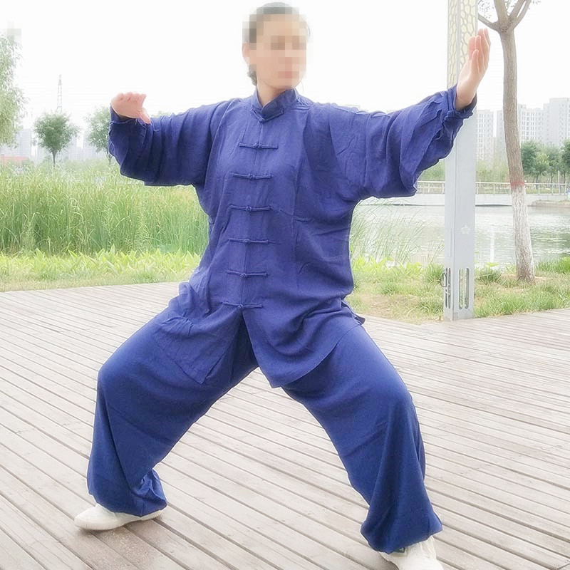 USHINE Tai Chi Uniform Cotton 5 Colors High Quality Wushu Kung Fu Clothing For Children Adult Martial Arts Wing Chun Suit