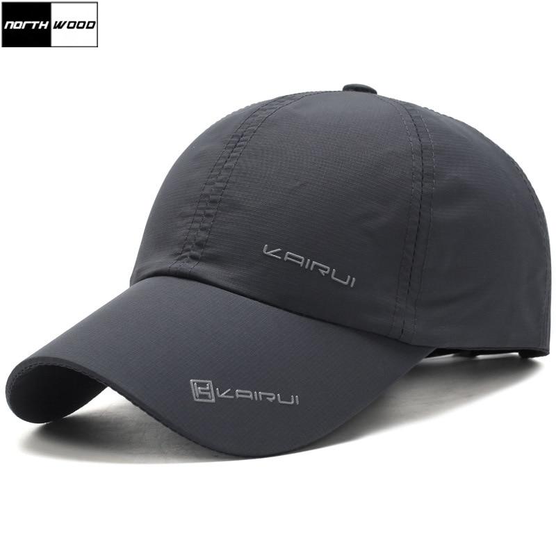 [NORTHWOOD] Solid Summer Cap Branded Baseball Cap Men Women Dad Cap Bone Snapback Hats For Men Bones Masculino
