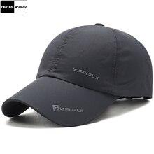 [NORTHWOOD] Solid Summer Cap Branded Baseball Cap