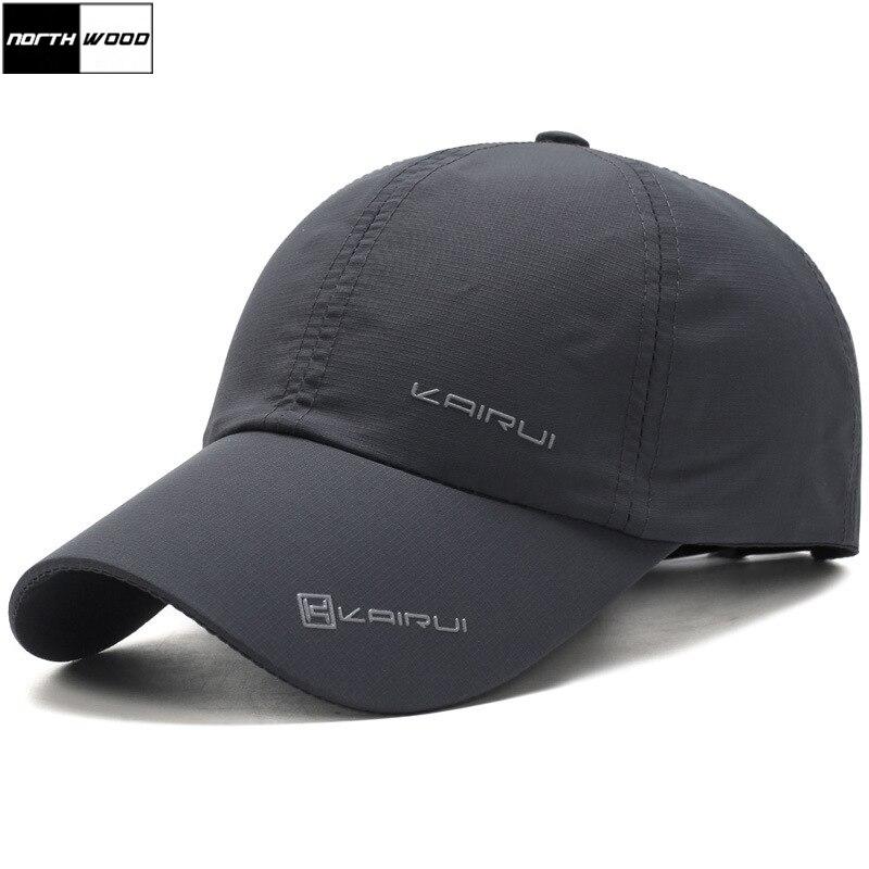 [NORTHWOOD] Solido Protezione di Estate di Marca Berretto da baseball Uomo Donna Papà Cap Cappelli di Snapback Osso Per Gli Uomini Ossa Masculino