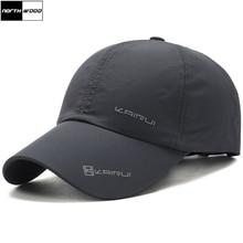 [NORTHWOOD] Solid Summer Cap Branded Baseball Cap Men Women Dad Cap Bo