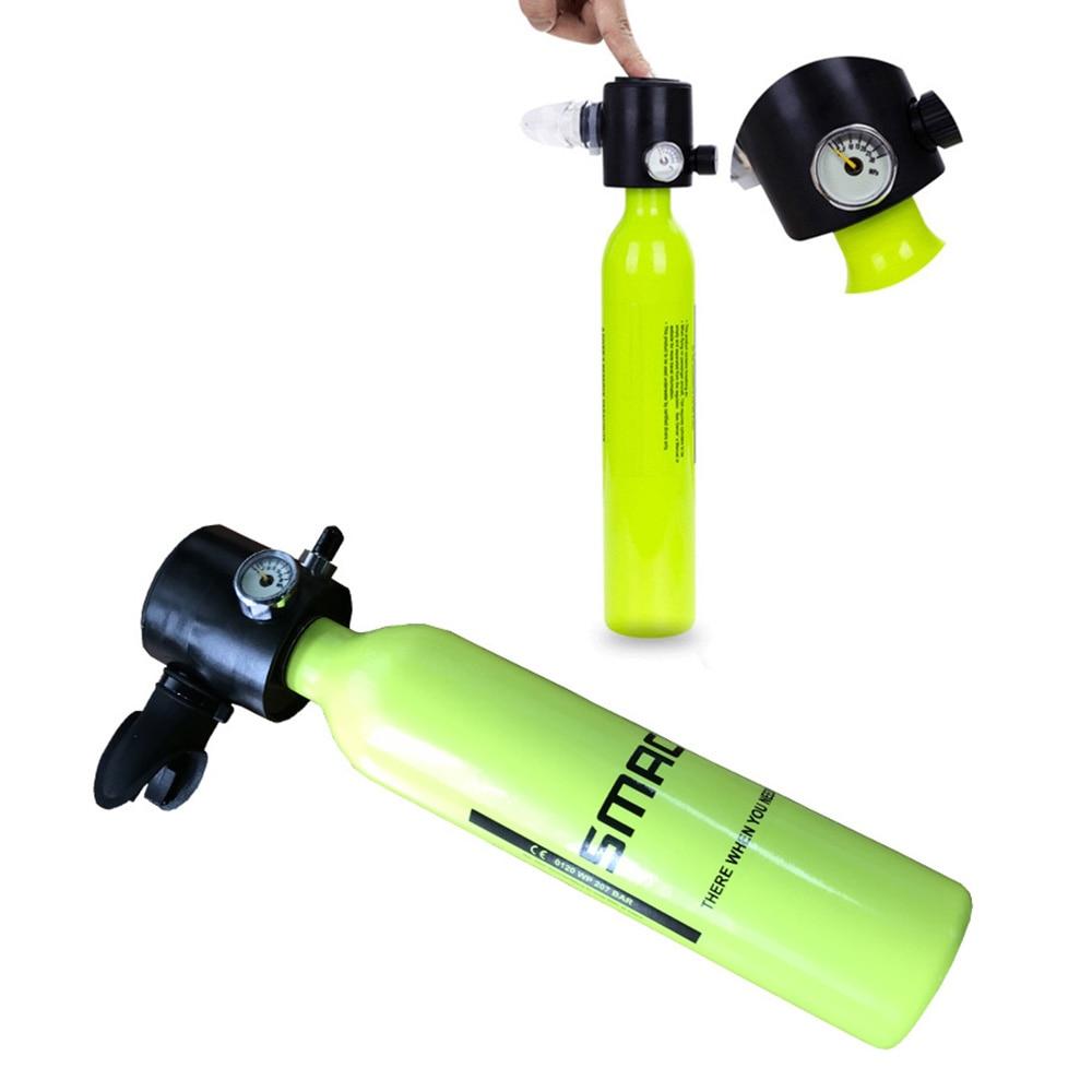 Mini bouteille d'oxygène de plongée réservoirs d'air équipement de plongée SMACO Mini bouteille de plongée sous-marine réservoir d'oxygène accessoires de natation