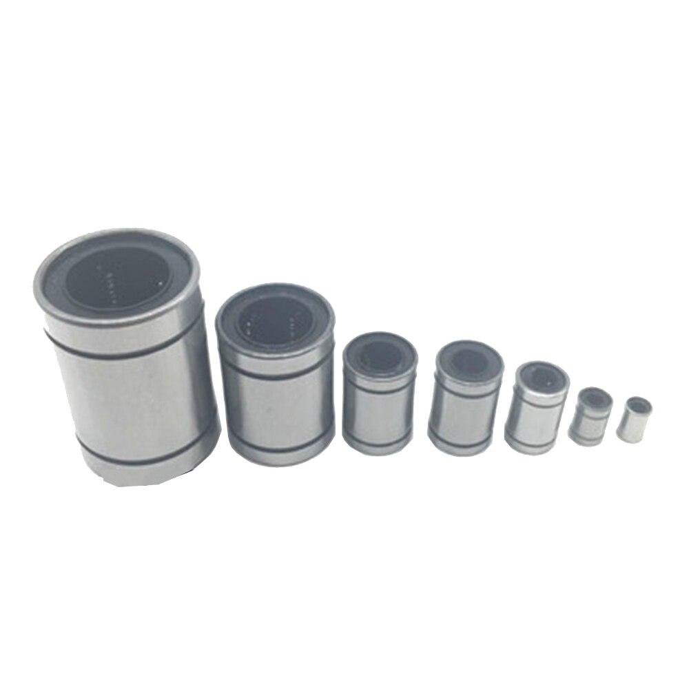 1PCS LM8UU 8mm LM3UU LM4UU LM5UU LM6UU LM10UU LM12UU LM16UU LM20UU linear bushing CNC Bearing for rod Liner shaft  Parts