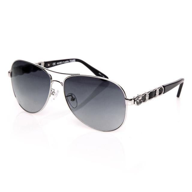Óculos de sol Óculos de Sol Das Mulheres Designer De Luxo Feitos À Mão de Couro Genuíno Estilo Único Óculos Senhoras Grandes óculos de Armação óculos MK0240