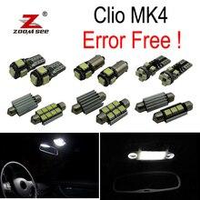 7 шт. x ошибок для 2013- Renault Clio 4 IV MK4 хэтчбек Grandtour Estate светодиодный лампы Интерьер чтение ствол свет комплект