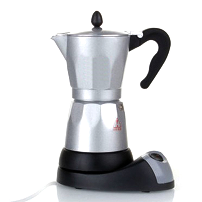 Coffee Maker No Plastic No Aluminum : Electric heating mocha pot fully automatic aluminum coffee machine lounged electric coffee pot ...