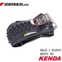 Free Shipping Kenda High Quality Bikes Folding Tires 26x2 1 K1010 For MTB