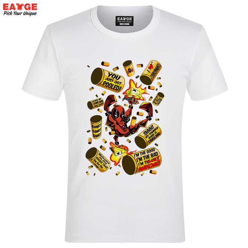 Buy eatge new design canada deadpool t for Create t shirt store online