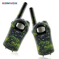 2pcs Mini Kids Walkie Talkie FRS/GMPS 8/20/22CH VOX Flashlight Lcd display UHF 400 470MHZ Two Way Radios Intercom for Children