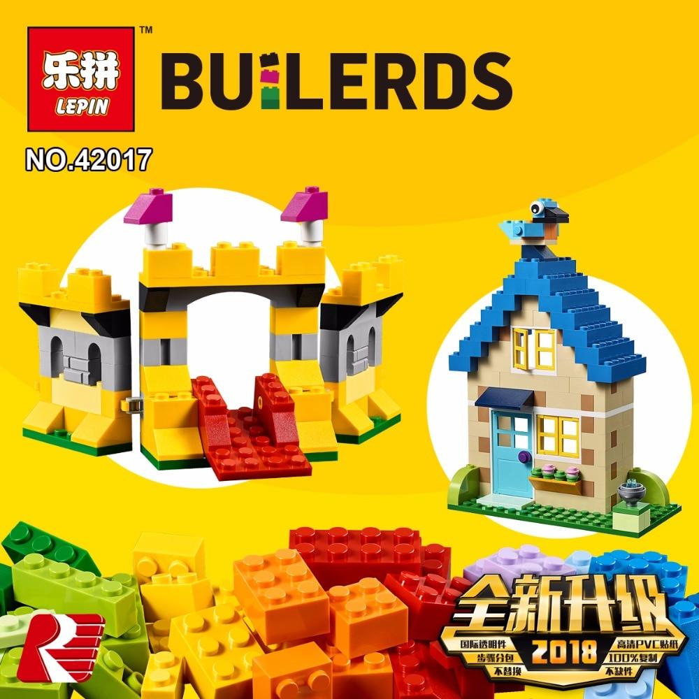 Lepin 42017 Creative Kids Toys The Legoingly 10717 Extra Large Brick Box Set Building Blocks Bricks Funny Kids Toys Model Gifts