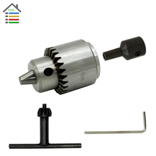 Free shipping New Drill Chucks Cap 0.3-4mm JTO Mount Taper fit Lathe PCB Mini Hand Drill Presses for 6mm Motor Shaft Rod